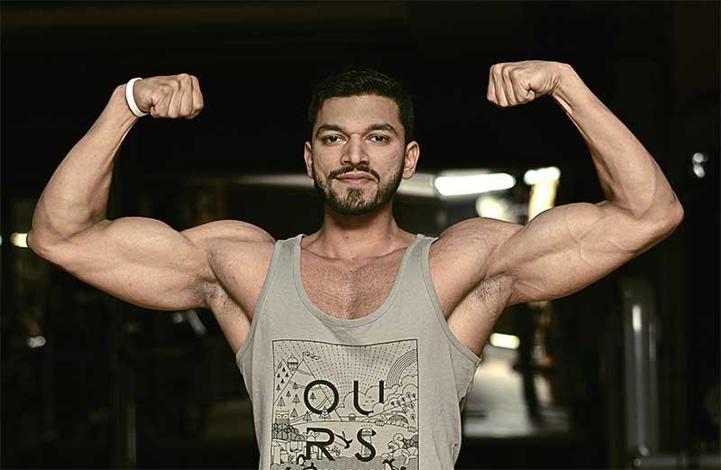 Puerto Rican Jose Mier at San Juan Gym