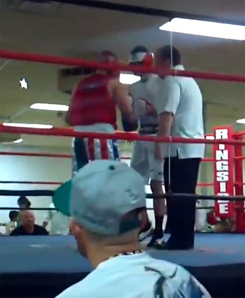 jose mier jr. boxing match
