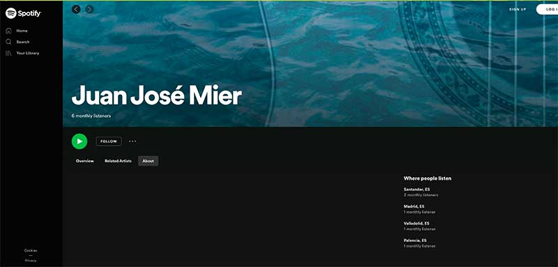 jose mier on spotify