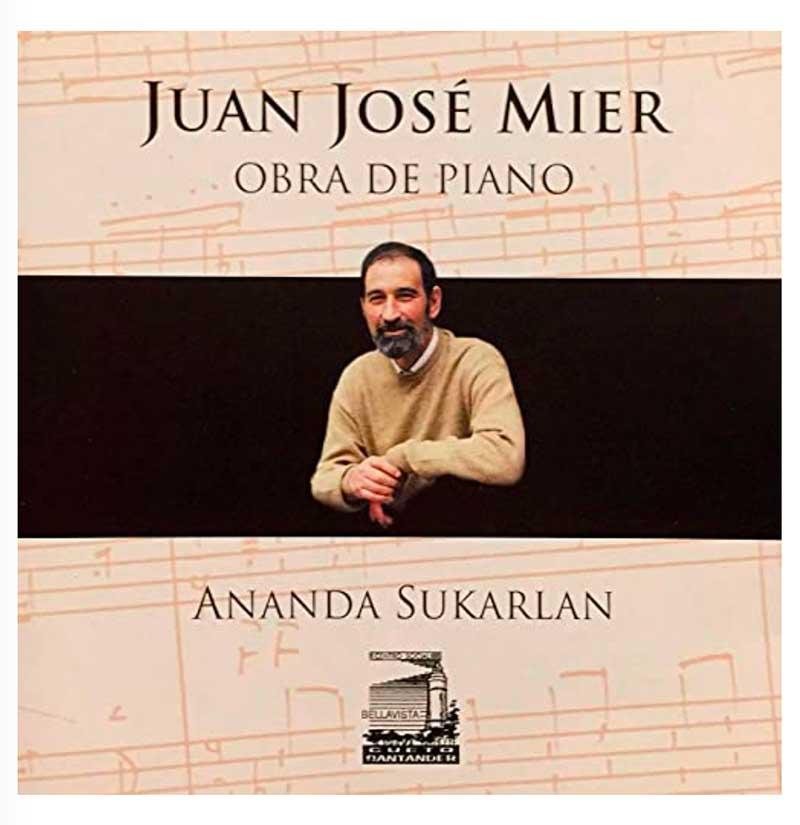 Juan Jose MIer Piano Works CD