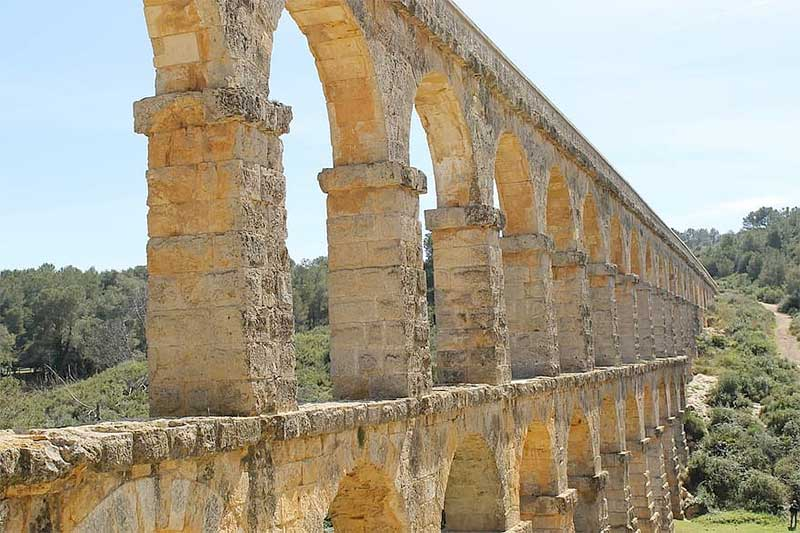 Roman aqueduct in Jose Mier's Spain