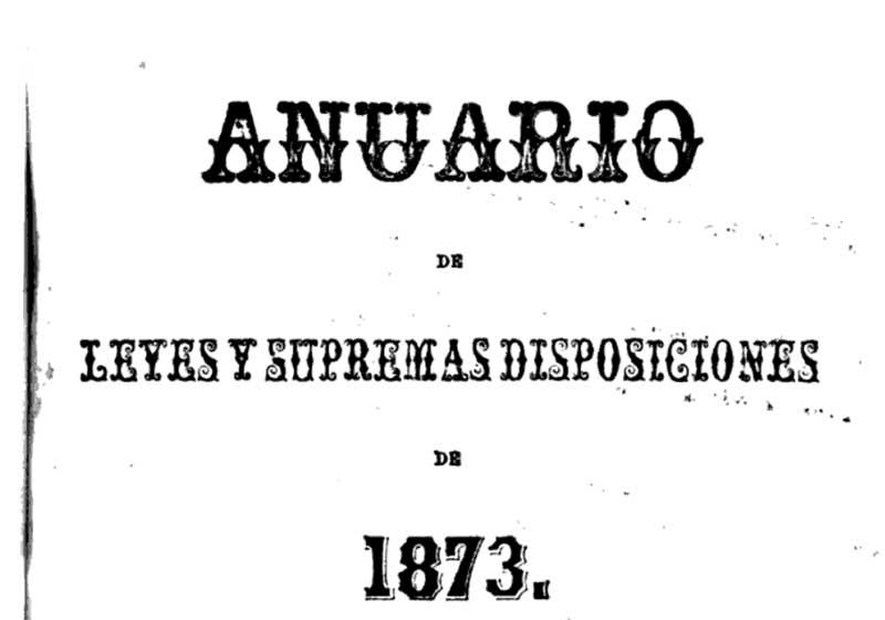 Bolivian Anuario containing Jose Mier listing