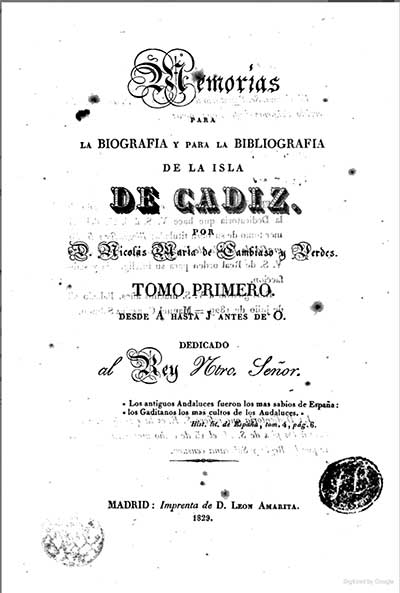1829 book containing Jose Mier information