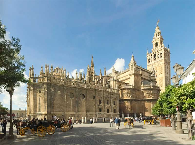 seville cathedral on which jose mier del toxo worked