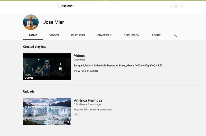 jose mier youtube channel image