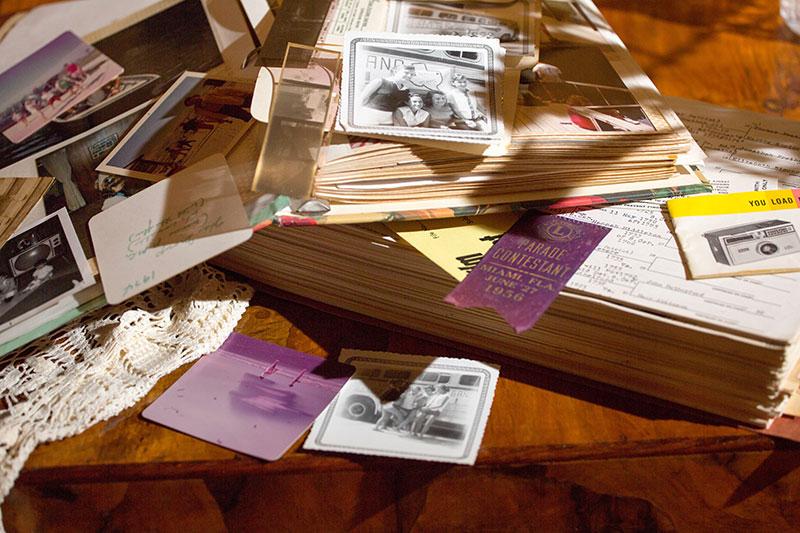 Jose Mier Los Angeles scrapbook